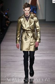 gotta love a gold trench, thanx marc