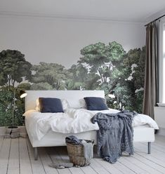 I could live with this: Rebel Walls Wallpaper Bellewood I Remodelista