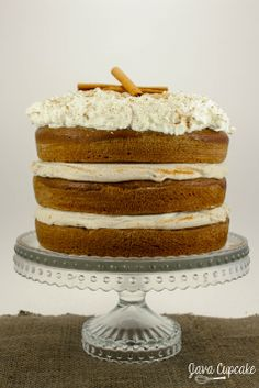 ... food on Pinterest   Pumpkin spice cake, Maple cream and Spice cake
