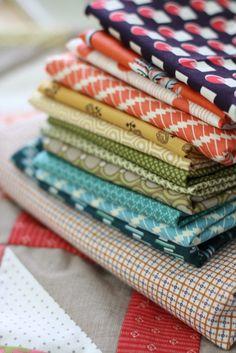 denyse schmidt color spectrum pieced quilt back