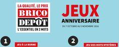 Grand jeu Brico Dépôt légendaire anniversaire www.legendaireanniversaire.com