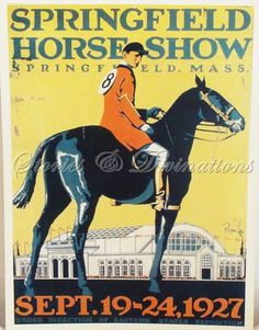 Horse Show poster from the '20s