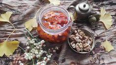 Perzsa sütőtök dzsem-Moraba -ye Kadoo Halvaie   Gránátalma és borbolya