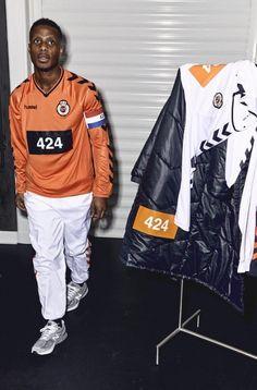 Slam Jam Announces Collaborative Milan Fashion Week Showcase Football Casual Clothing, Football Casuals, Vintage Football Shirts, Football Fashion, Football Design, Football Kits, Soccer Inspiration, Jersey Outfit, Streetwear Clothing