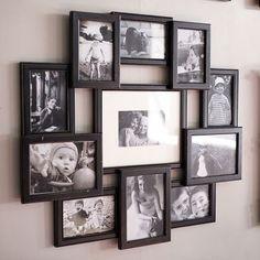 Bennet Collage Frame - Black