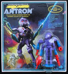 "Micronauts ""Antron.""  One of my all-time favorite action figures!  I had most of these when I was a kid!"