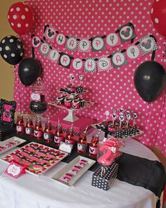 Minnie Mouse Birthday Decor...