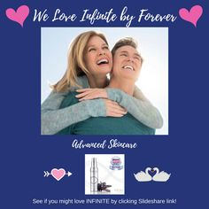 It seems to be a fact that both sexes love Infinite Award Winning Skincare by Forever more or less equally. So what a thrilling gift to give to your loved one at Christmas or at any time of year! Click the slideshare link for more info and see if you agree. #loveyourself #naturalskincare