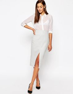 ASOS+Linen+Pencil+Skirt+with+Pocket+Detail