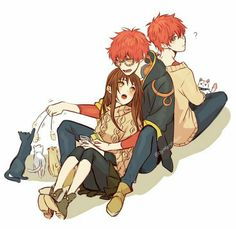 707, MC, Unknown, neko, cats, cute, text; Mystic Messenger