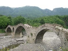 Three-Arched Stone Bridge of Kalouta Photo from Kaloutas in Ioannina | Greece.com