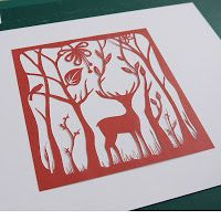 How to make a paper cutting template #SuzyTaylor #PaperCutting