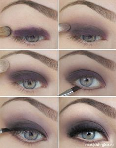 12 Alluring Grey Smokey Eye Makeup Looks for 2014 | Pretty Designs