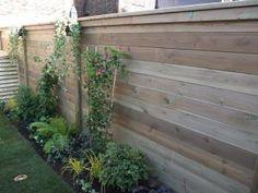 Color Backyard Fences Plan Garden Fencing Dividers Side