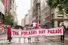 This is another way for kids to get involved with Pulaski Day. Perhaps this would be a good idea to mention to students before the day so they could attend and check out what the parade is all about. Students can then write a response on what they saw at the parade, and why they think the parade was started for Pulaski day! This would be a good wrap up activity or extra credit opportunity for the students. (AK) Pulaski Day Parade #polishchicago