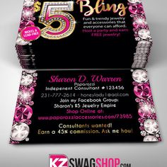 Paparazzi business cards style 13