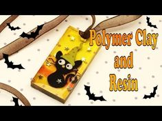 Magical cat- polymer clay and resin-tutorial- pendant. This video have the collaboration of Banggood, that gently sent me some more products to try Im delighted with the quality of the products that Ive tested so far, and I highly recommend them! Uv Resin, Resin Art, Zero Nightmare Before Christmas, Palmer Clay, Clay Videos, Resin Crafts, Dyi Crafts, Resin Tutorial, Fimo Clay