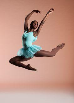 Ashley Murphy, Dance Theater of Harlem. Photo by Rachael Neville. Ballet Poses, Ballet Dancers, Ballet Leap, Ashley Murphy, Afro, Black Dancers, Ballet Images, Black Ballerina, Misty Copeland