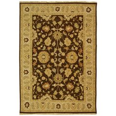 @Overstock - Hand-woven rug uses the traditional Turkish Sumak weave  Area rug features a chain-stitched brocade effect  Provides the perfect way to add color and softness to your home decorhttp://www.overstock.com/Worldstock-Fair-Trade/Indo-Handmade-Sumak-Flatweave-Brown-Beige-Rug-8-x-10/4332931/product.html?CID=214117 $739.99