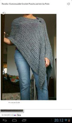 Crocheted throw