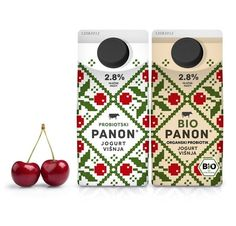 Peter Gregson Studio for PANON and BIOPANON Yogurt and Kefir Brands | 34 Coolest Food Packaging Designs Of 2012