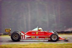 ——— Jody Scheckter en el Ferrari 312T4 de 1979 ——-