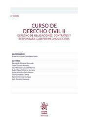 Curso de derecho civil. II, Derecho de obligaciones, contratos y responsabilidad por hechos ilícitos.     8ª ed.     Tirant lo Blanch, 2016