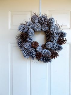 Pine Cone Wreath by CharismaGift on Etsy, $40.00