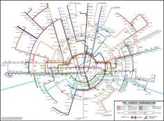 Creative Review - A circular subway map for London
