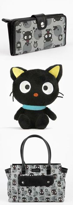 The #Chococat Preppy Collection: Bags, wallets and Chococat plushes to love