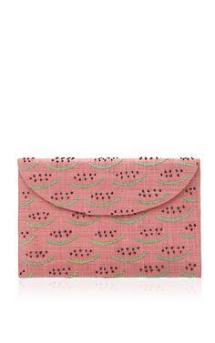 Watermelon Clutch by KAYU for Preorder on Moda Operandi