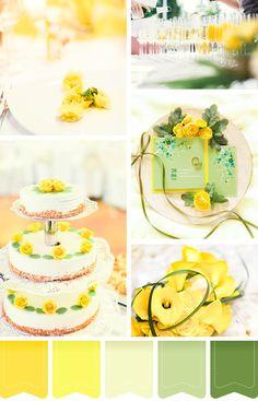 Eine Hochzeitsfarbe, die voll im Trend 2016 liegt, ist die Farbe Gelb. Dieses Moodboard inspiriert Euch zu Eurem Farbkonzept für die Sommerhochzeit  #gelb #yellow #wedding #hochzeit #farbkonzept #moodboard #weddingcake #weddingstationary #apero #sektempfang #hochzeitstorte #brautstrauß #blumendekoration #farben
