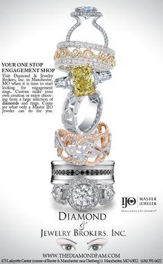 Print Ad for Diamond & Jewelry Brokers