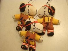 Vintage Snoopy : Cloth Doll Ornament...still have it!