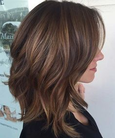 31 Lob Haircut Ideas for Trendy Women - the lob is the new bob. frisuren feines haar 31 Lob Haircut Ideas for Trendy Women Shoulder Length Layered Hair, Shoulder Length Hair Styles For Women, Brunette Shoulder Length Hair, Long Bob Haircuts, Trendy Haircuts, Cute Medium Length Haircuts, Summer Haircuts, Pixie Haircuts, Popular Haircuts