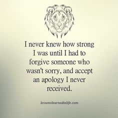 Lessons Learned in LifeI never knew how strong I was. - Lessons Learned in Life Life Quotes Love, Great Quotes, Quotes To Live By, Me Quotes, Motivational Quotes, Inspirational Quotes, Lessons Learned In Life Quotes, Selfie Quotes, Work Quotes