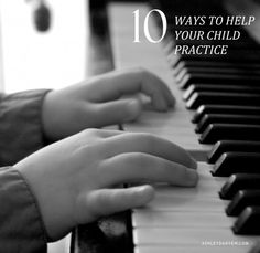 10 Ways to Help Your Child Practice | Ashley Danyew | Pianist and Music Educator - create repertoire box!