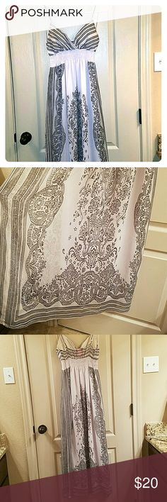 Beautiful Bohemian Design Dress Light weight and flowy strap dress Dresses Maxi