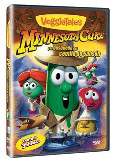 Diseño publicitario de DVD's - Stop Diseño Gráfico - Diseño de Minnesota Cuke - VeggieTales - Big Idea.
