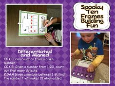 A Differentiated Kindergarten: Differentiated Math Can Be SPOOKY FUN!