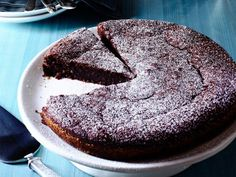 Valentine's Day Chocolate Desserts : Food Network. Chocolate-Almond Torte