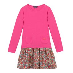 Robe Fuchsia Kid Cool Layered Sweater Dress - Not a fan of the sweater color, but I like the style.