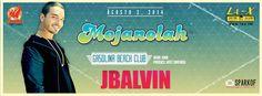 Regresa la fiesta del verano Mojanolah el 2 agosto en el Gasolina Beach Club, Arecibo. Consigue tu entrada hoy en Ticket Center www.tcpr.com