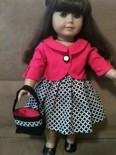 New listing from Peggy's Prozac on Etsy!--- how cute is this.  I wonder if that is LJ jacket pattern.