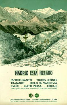 8-S> Presentación 'Madrid está helado' @ Siroco