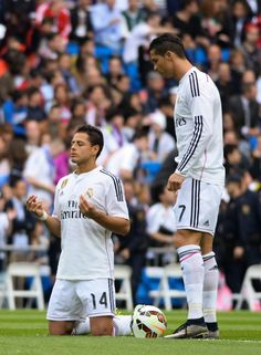 """""""Y de por Dios, que Cristiano me toque el balón en el partido de ida ante el Juventus por semifinales de la UEFA Champions League""""."""