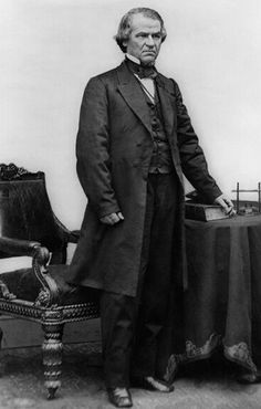 'Washington DC is twelve square miles bordered by reality' Andrew Johnson (17th President) 1865-1869. The President who bought Alaska from the Russians.