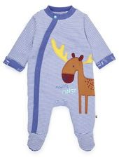 Baby Boy's Moose All-in-one