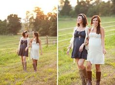 Best Friends, Sisters, Pregnancy Photography.