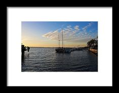 boat, sunset, water, clouds, sky, landscape, nature, pineland, florida, michiale schneider photography